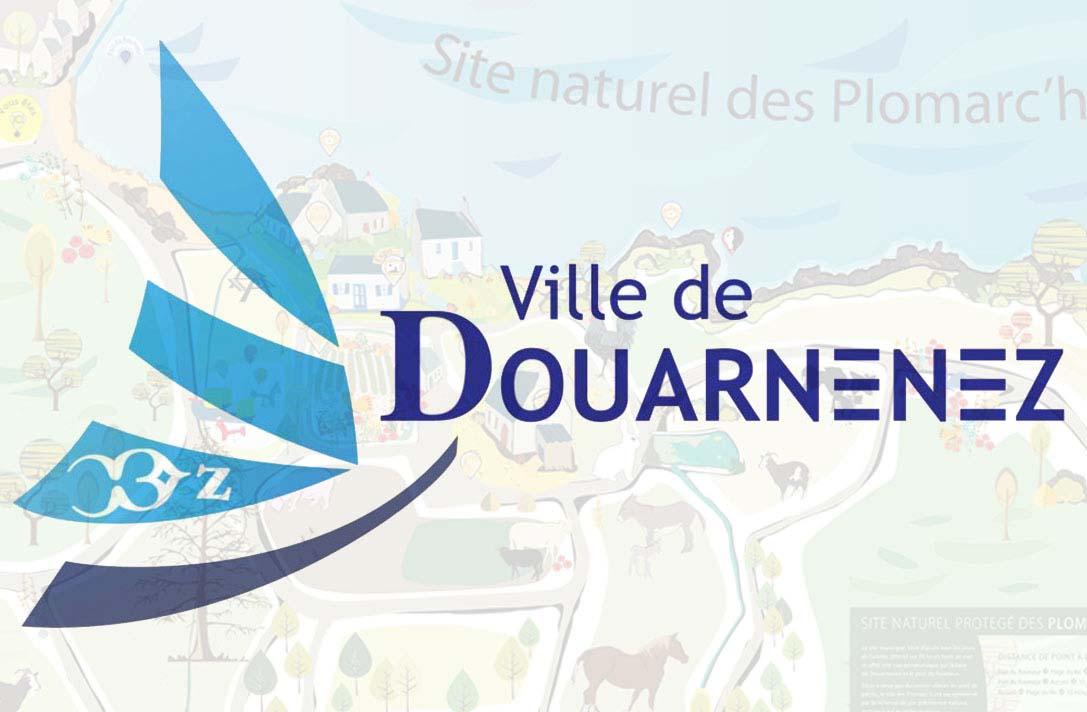 Mairie de Douarnenez, le site des Plomarc'h